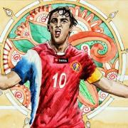 Costa Rica und die wenigen Stärken: Gute Flügelspieler als einziger individueller Trumpf