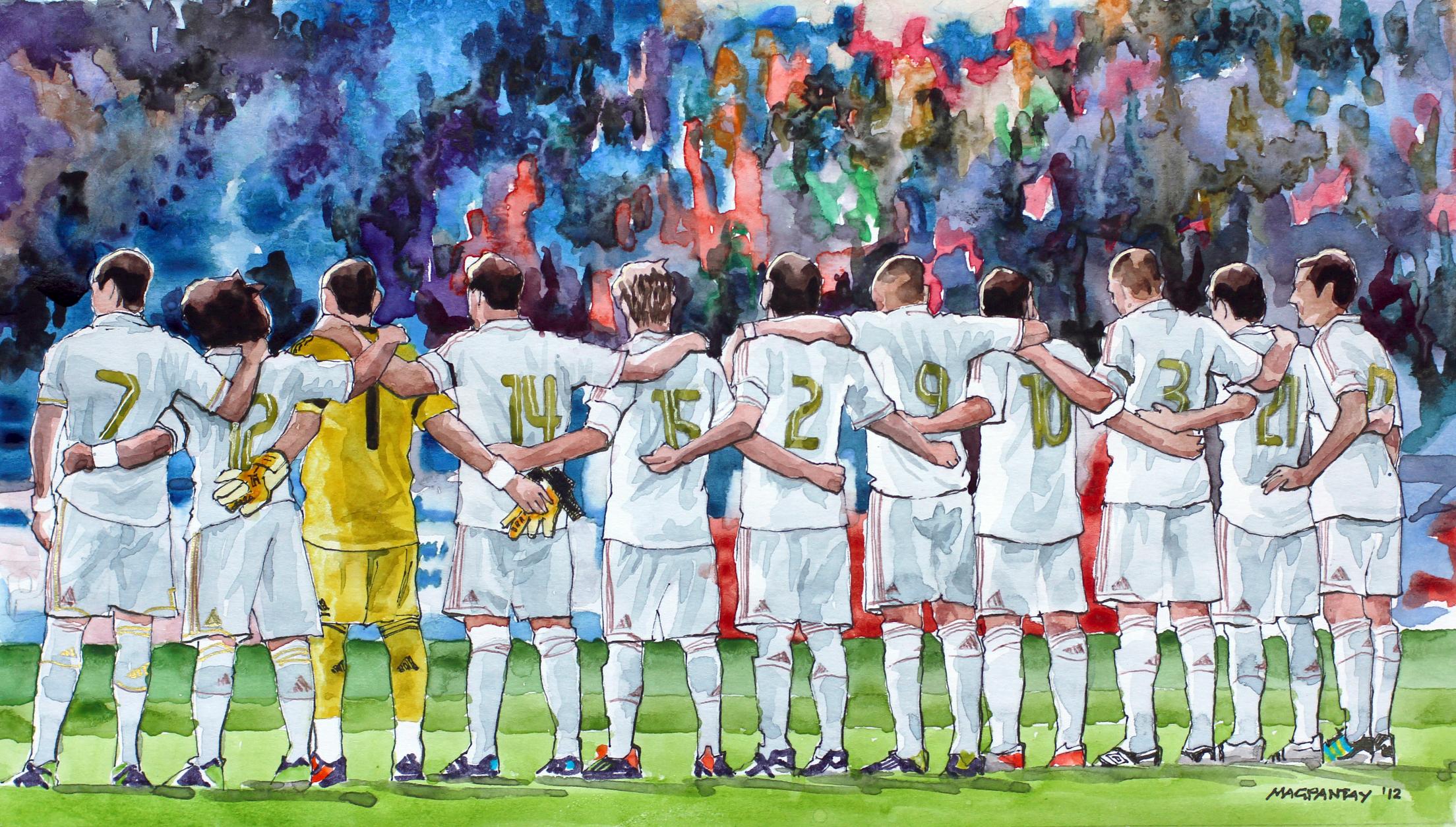 Mannschaft, Elfmeter, Real Madrid, Einheit, Kollektiv