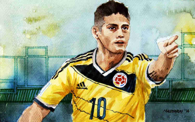 _James Rodriguez - Kolumbien, Real Madrid