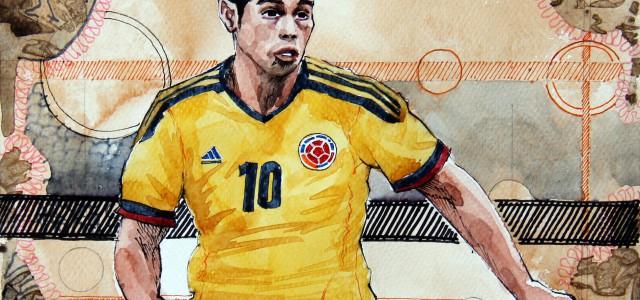 Die WM und ich – Achtelfinale: Kolumbien gegen Uruguay