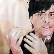 Deutschland vs. Spanien: Juego de Posicion und Rondo soweit das Auge reicht