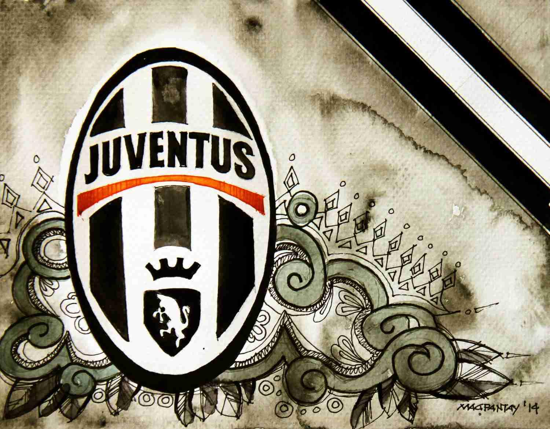 _Juventus Turin - Wappen mit Farben