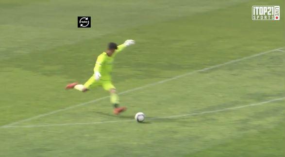 Koreanischer Drittligakeeper trifft aus 80 Metern