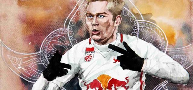 Konrad Laimer und RB Leipzig fahren nach Berlin