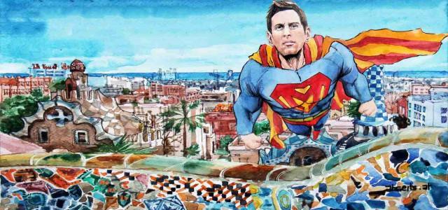 Spanien: Messi-Gala beschert Barcelona die 25. Meisterschaft