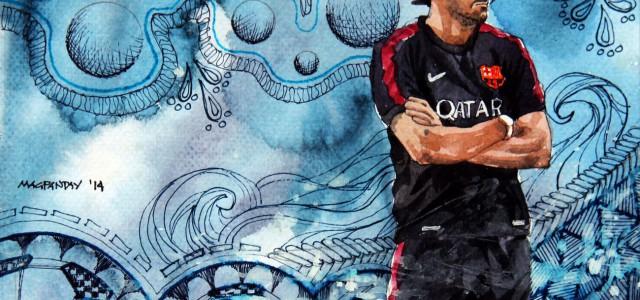 Luis Enrique variiert: Wie funktoniert Barcelona in einem 3-3-3-1 oder einem 3-3-1-3?