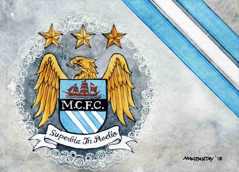 _Manchester City Wappen Stripes