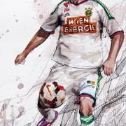 Taktikboards zur 19. Runde der tipico Bundesliga 2014/2015 | Rapids Flügel- schlägt Salzburgs Zentrumsfokus