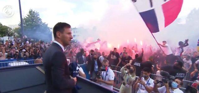 Messi trifft erstmals auf die PSG-Fans