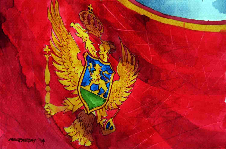 _Montenegro Flagge