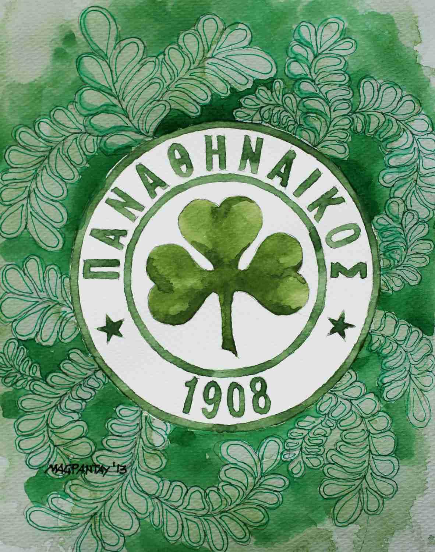 _Panathinaikos Athen Wappen