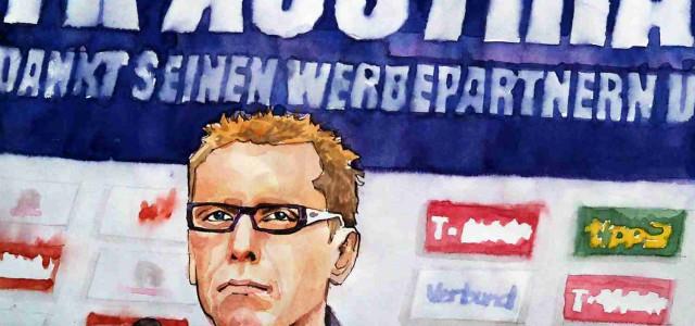 """Peter Stöger: """"Wir sind zurecht in der unteren Gruppe"""""""