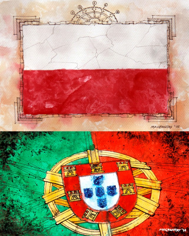 Fußball Polen Gegen Portugal