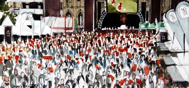 EM-Tagebuch aus Lyon (8): Die Nullnummer in der Fanzone