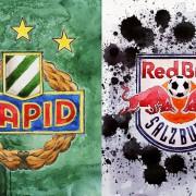 RB Salzburg siegt im Hanappi-Stadion: Rapid engagiert und bemüht, Bullen vorausschauender und schneller im Kopf