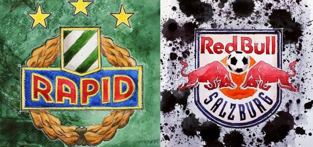 Gewonnener Punkt oder verlorene Meisterschaft? Die Stimmungslage der Rapid-Fans nach dem 3:3-Unentschieden gegen Red Bull Salzburg.