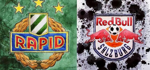 Die Fanmeinungen vor dem Duell zwischen dem SK Rapid und RB Salzburg