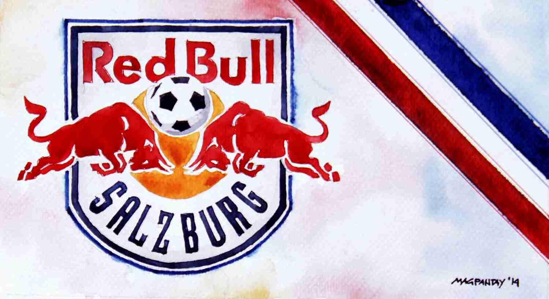_Red Bull Salzburg - Wappen mit Farben