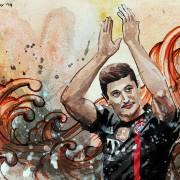 Deutschland: Die Elf des 14. Spieltags 2016/17
