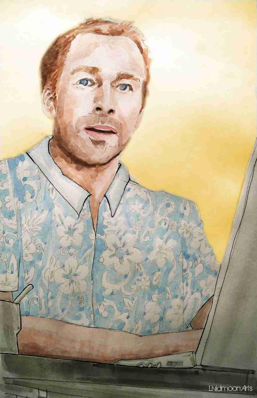 _Roman Mählich im Hawaiihemd