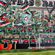 Kommentare der Rapid-Fans nach dem Valencia- und vor dem Grödig-Spiel