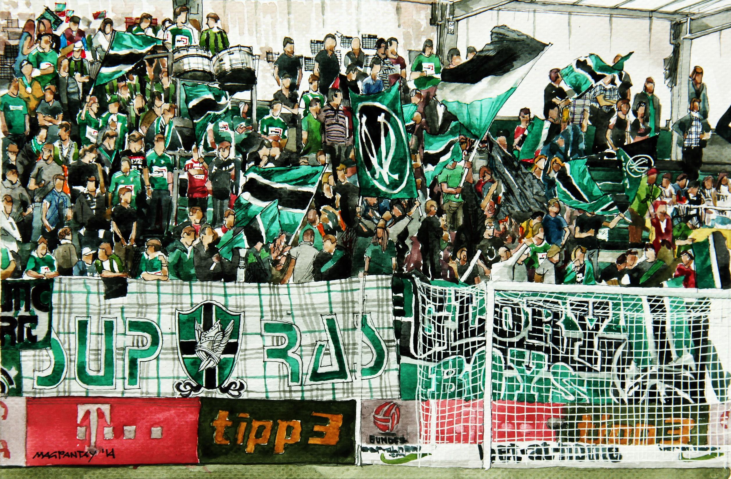 """Fans vor Ried gegen Sturm: """"Corona wird noch viele Mannschaften betreffen"""""""