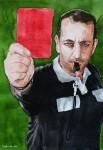 Schiedsrichter rote Karte