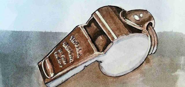 Anekdote zum Sonntag (138) – Der Tritt des Schiedsrichters