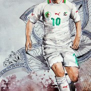 Die junge Mannschaft Algeriens: Offensiv interessant, defensiv sehr schwach