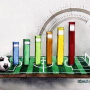 Spielplananalyse der Ligue 1 und der Primeira Liga 2021/22