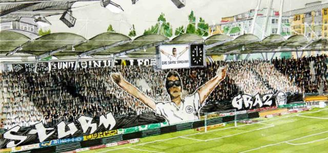 Rapid-Gastspiel beim SK Sturm ausverkauft