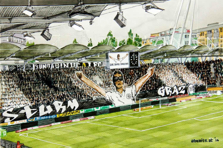 """Sturm-Fans: """"Uns fehlt ein Spieler wie Zulj im Mittelfeld"""""""