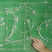 Taktiktheorie: Spielaufbau über das Zentrum und die Halbräume