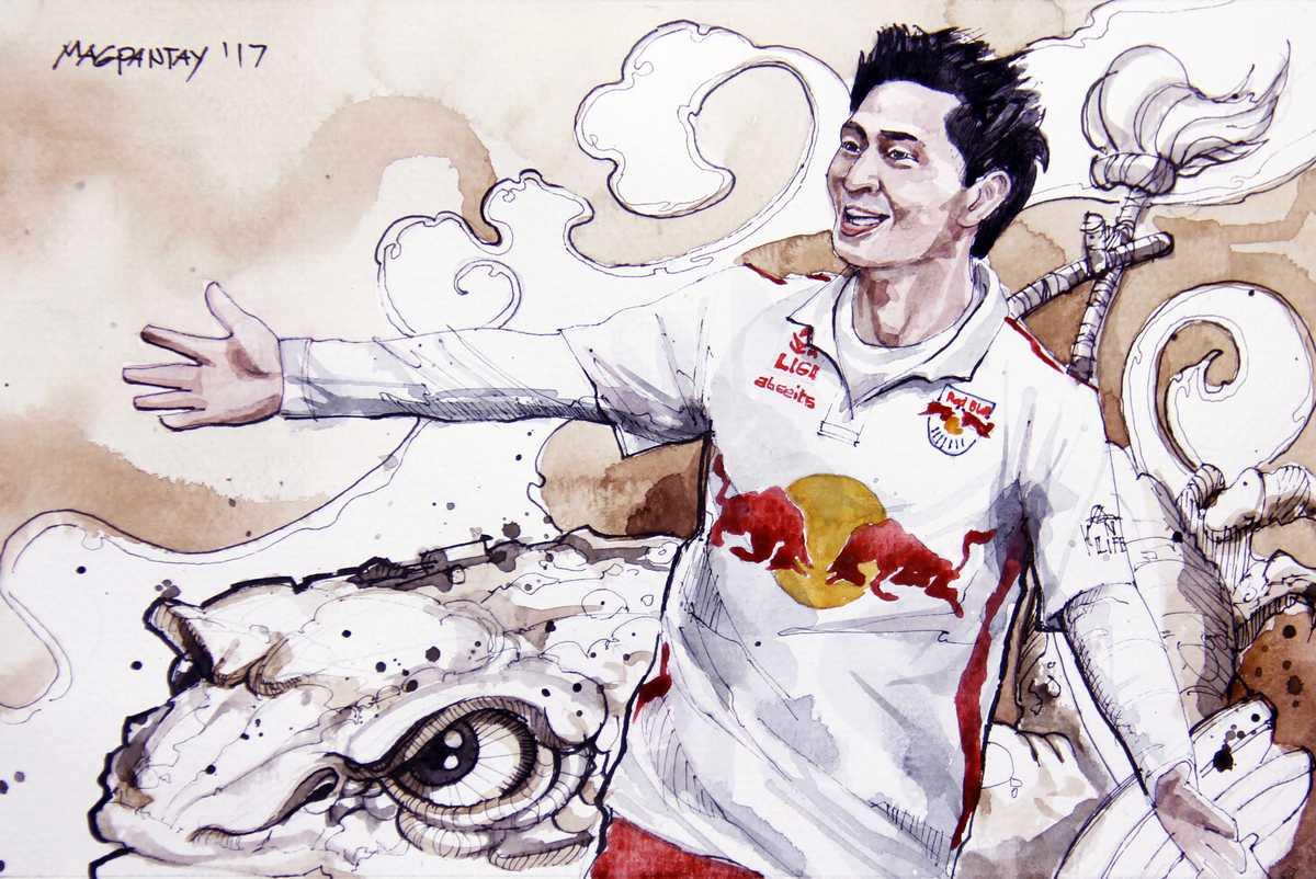 Takumi Minamino - Red Bull Salzburg