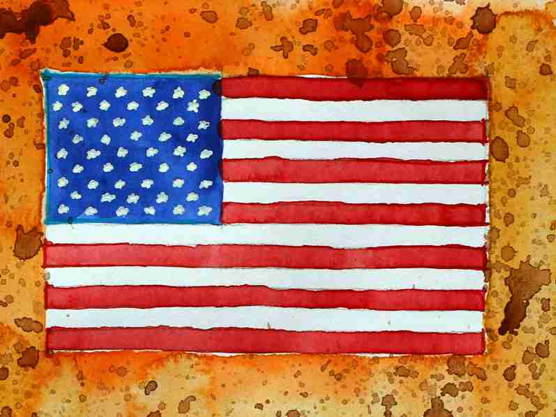 _USA Flagge
