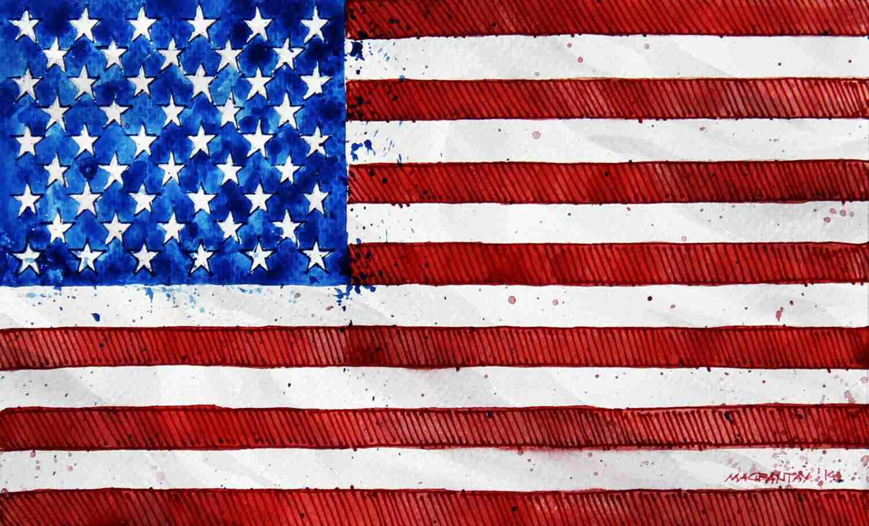 _USA-Flagge