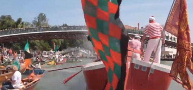 Endlich wieder erstklassig: Malerische Aufstiegsfeier in Venedig
