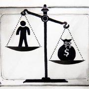Kommentar: Geld weicht Moral auf
