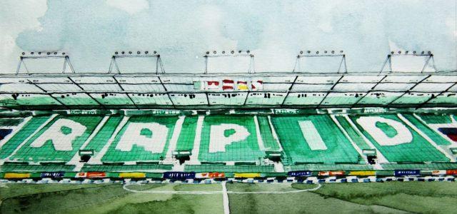 """Rapid-Fans: """"Gegen den WAC muss man an die Leistungsgrenze gehen"""""""