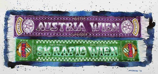 Spielerbewertung Wiener Derby: Rapids Offensivverbund stark, aber Prokop bester Mann