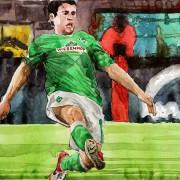 Deutsche Bundesliga: Junuzovic verabschiedet sich von Werder-Publikum