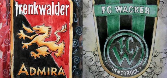 Eine kampfbetonte Partie, die keinen Sieger sah: Admira und Wacker Innsbruck trennen sich 1:1