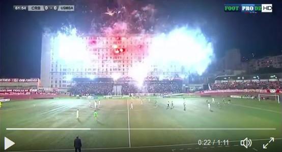 Ganz schön was los im algerischen Cup…