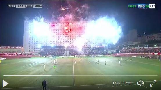 Ganz schön was los im algerischen Cup...