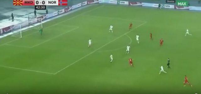 Fantastischer Assist von Ezgjan Alioski (Mazedonien) gegen Norwegen
