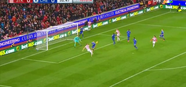 Marko Arnautovic schießt den FC Chelsea K.O.