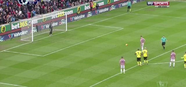Arnautovic trifft per Elfmeter zum 1:0 gegen Aston Villa
