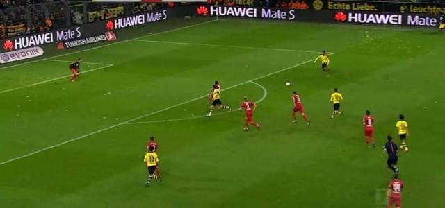 Nur drei Stationen nötig: Aubameyang trifft zum 2:0 des BVB gegen Stuttgart