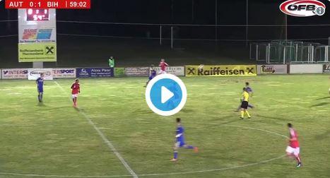 Österreichs U17-Nationalteam kassiert Gegentor aus 60 Metern