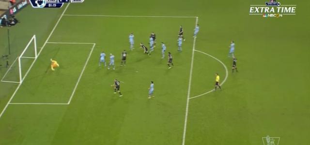 Ashley Barnes trifft zum sensationellen Ausgleich für Burnley bei Manchester City